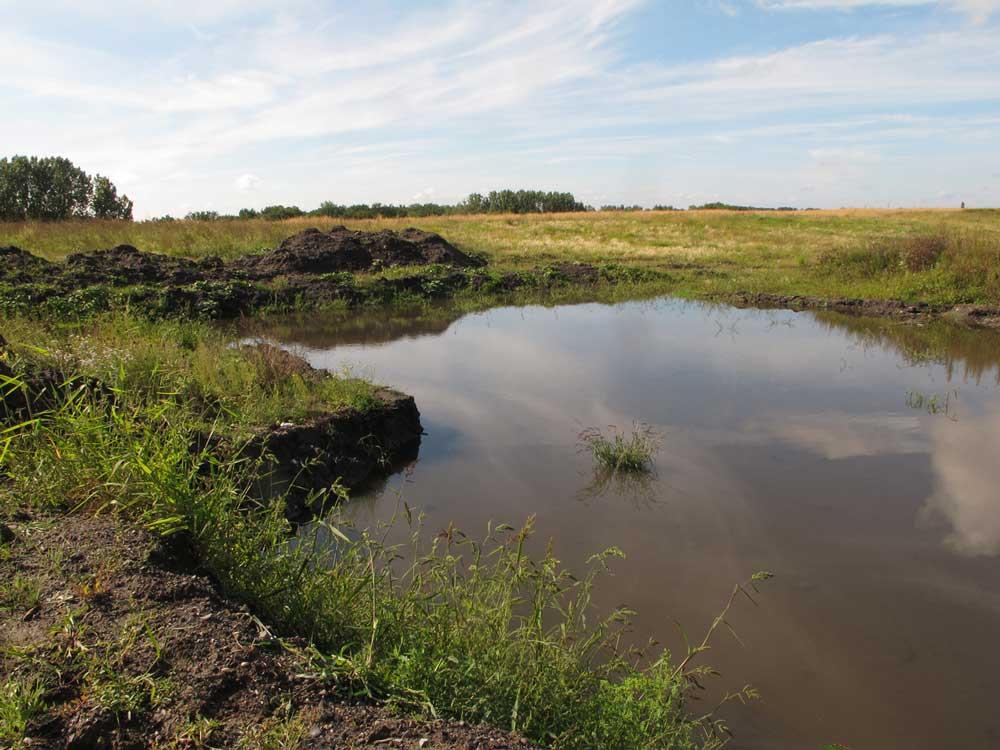 Restwasser Kanalband Bergkamen am 10.09.2011 Foto: Karl-Heinz Kühnapfel