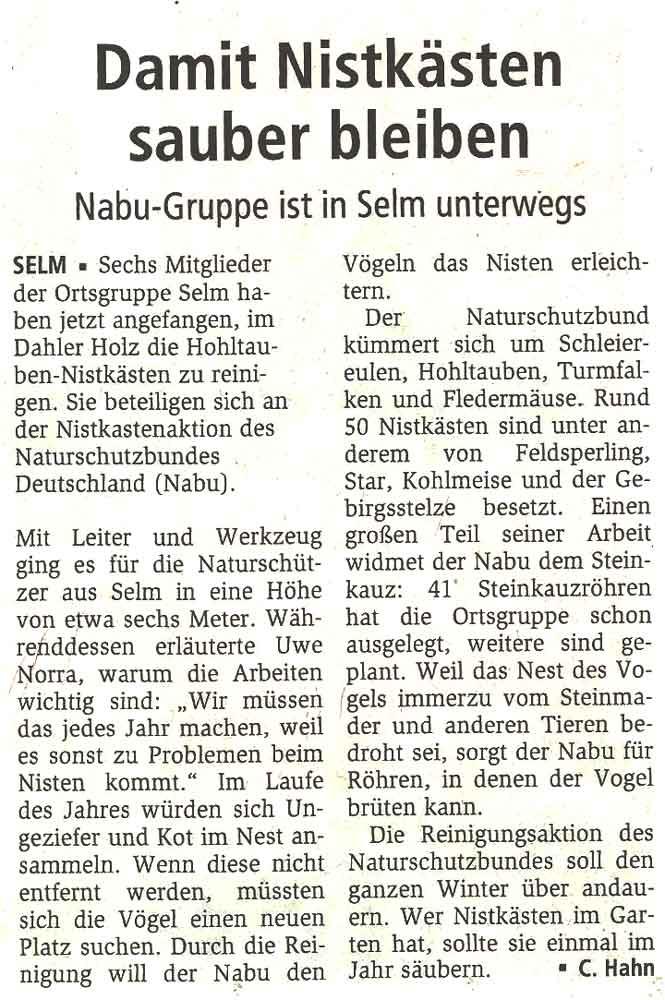 Hellweger Anzeiger vom 31.10.2011