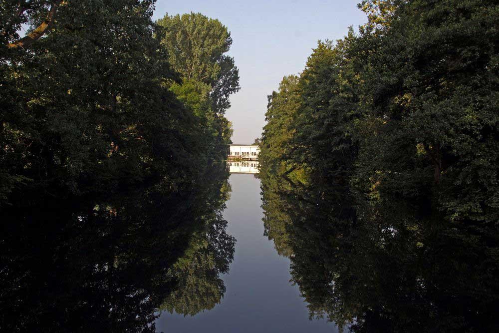 Impressionen am Obergraben,der dem NSG seinen Namen gab am 04.08.11 Foto: Gregor Zosel