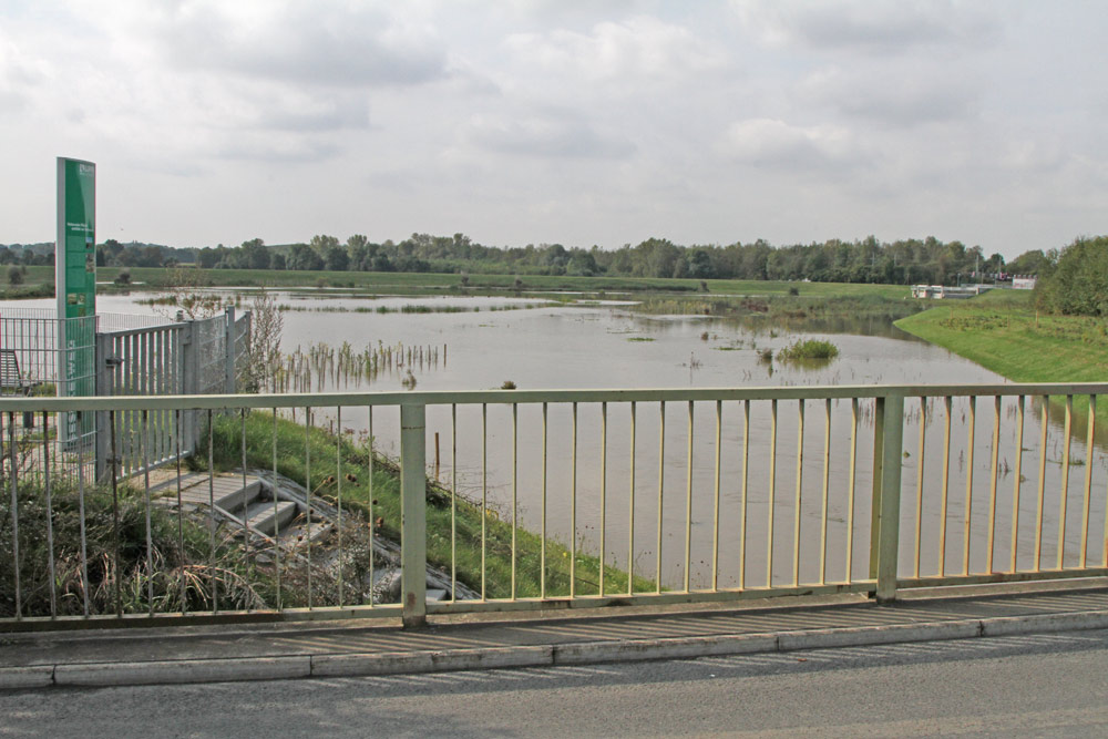 Hochwasserrückhaltebecken der Seseke -  nahe dem NSG Holzplatz (Bönen), 19.09.2014 Foto: Bernhard Glüer