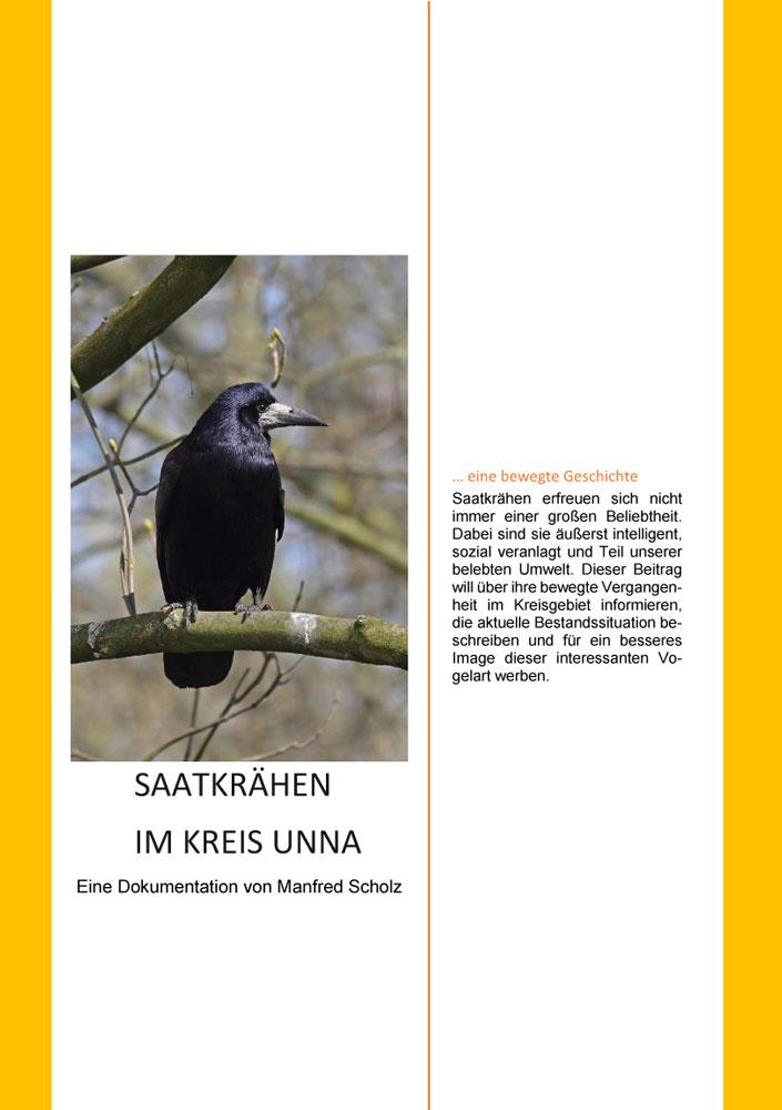 Saatkrähen im Kreis Unna - Eine Dokumentation von Manfred Scholz