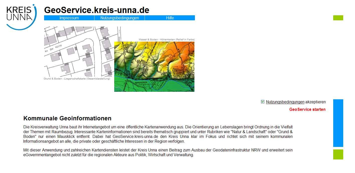 GeoService Kreis Unna